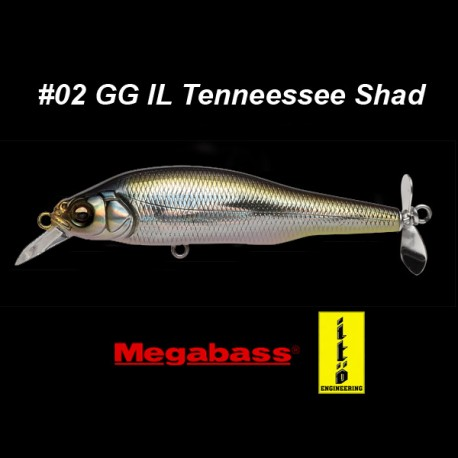 Megabass Prop Darter 80 col. 30 Heat Magic