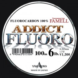 Yamatoyo Addict Fluoro 12 lb 100 mts