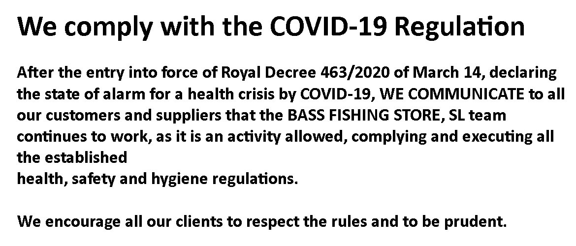 We comply with the COVID-19 Regulation