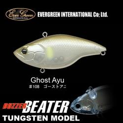 Ever Green Buzzer Beater Tungsten #108 Ghost Ayu