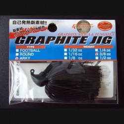 Lucky Craft Graphite Arky Jig 3/8oz #266 Black