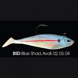 Wildeye Swim Baits Shad WSS04 BSD Blue Shad