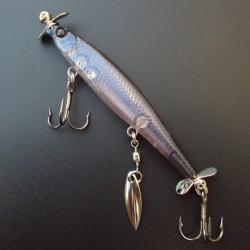 Lucky Craft SHINGO Blade Screw 67 #257 Aurora Pro Blue
