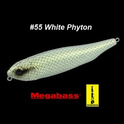 Megabass Giant Dog-X #55 White Phyton