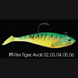 Wildeye Swim Baits Shad WSS05 FT Fire Tiger