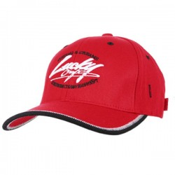 Lucky Craft Racing Flex Fit Cap Red