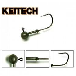 Keitech Tungsten Super Round Jig Head #2 5/64oz 2,2g