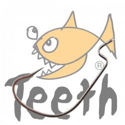 Teeth Anzuelo Curvo #1/0 - 5 pack