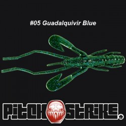 Pitch and Strike Zelus Craw #005 Guadalquivir Blue