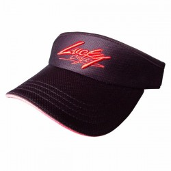 Lucky Craft Sun Visor Black and Red