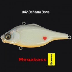 Megabass Vibration-X Ultra Bone Knocker #02 Bahama Bone