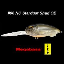 Megabass MD-X Cyclone #06 NC Stardust Shad OB