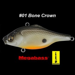 Megabass Vibration-X Ultra Bone Knocker #01 Bone Crown