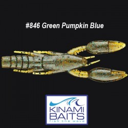 Kinami Psycho Dad #846 Green Pumpkin Blue