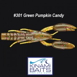 Kinami Psycho Dad #301 Green Pumpkin Candy