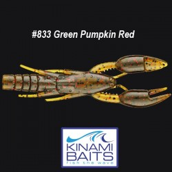 Kinami Psycho Dad #833 Green Pumpkin Red