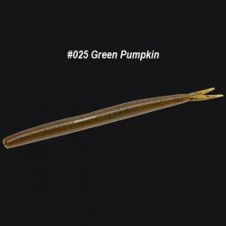 Zoom Fluke Stick #025 Green Pumpkin