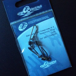 Esquena Profesional Rolling Swivel with T-shape snap #4 - 3 uds.