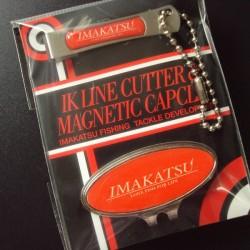 Imakatsu IK Line Cutter & Magnetic Cap Clip #Red
