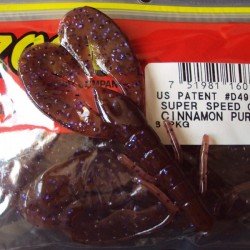 "Super Speed Craw 4'' col.226 Cinnamon Purple ""Color Especial"""