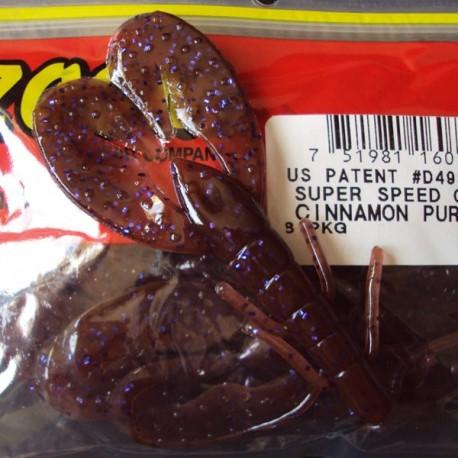 """Super Speed Craw 4'' col.226 Cinnamon Purple """"Color Especial"""""""