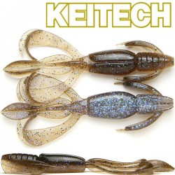 "Keitech Crazzy Flapper 3.6"" #463 Electric Brown Craw"