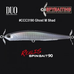 DUO Realis Spinbait 90 #CCC3190 Ghost M Shad