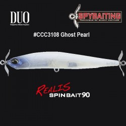 DUO Realis Spinbait 90 #CCC3108 Ghost Pearl
