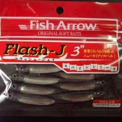 """Fish Arrow Flash J 3"""" #25 Lake Wakasagi/ Silver"""