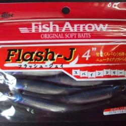 "Fish Arrow Flash J 4"" #04 Problue/ Silver"