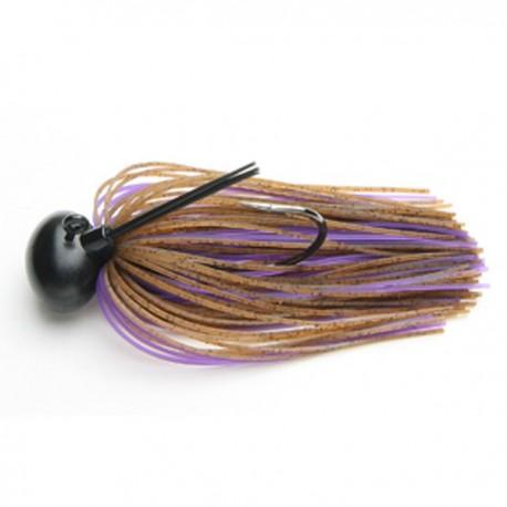 Keitech Rubber Jig Model II 1/2oz #008 Brown/ Purple