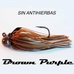 LongastBait Tungsten Jig MIni Sin WE 1/2oz #05 Brown Purple
