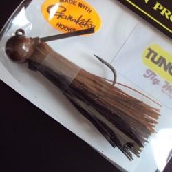 "LongastBait Tungsten Jig MIni 1/2oz #11 Brown Black ""Special"""