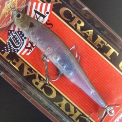 Lucky Craft Screw Pointer 90 #238 Ghost Minnow