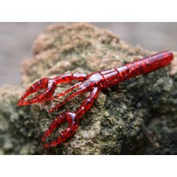 3 3/4'' Baby Craw (3S-10-SPECIAL) #185 Red w/ Black & Silver