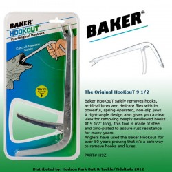 Baker Original Stainless Steel HooKouT 9 1/2