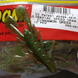 "Zoom Ultravibe Speed Craw col.081 Cinnamon Green ""Especial"""