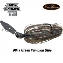 EverGreen Jack Hammer TG 1/2oz col.049 Green Pumpkin Blue
