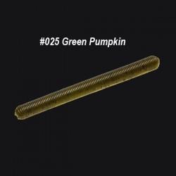"Zoom Fish Doctor 4"" col.025 Green Pumpkin"
