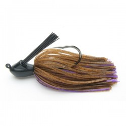 Keitech Rubber Jig Model I 3/8oz 11g col.008 Brown/ Purple